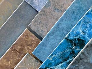 pola dan warna granit