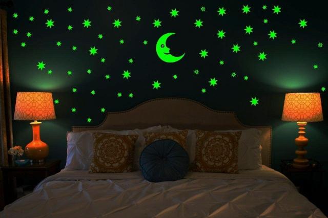 Kreatif Banget! Kamu Harus Coba Kamar Tidur Dengan Konsep Glow In The Dark